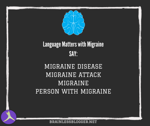 Language of migraine