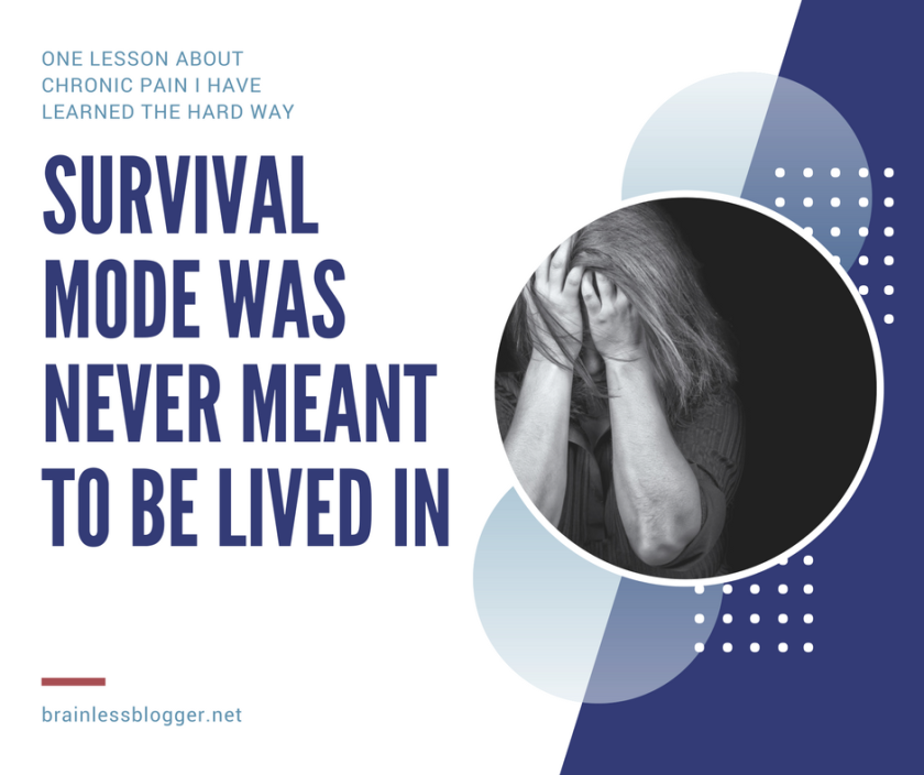 Survival mode was never meant to be lived in