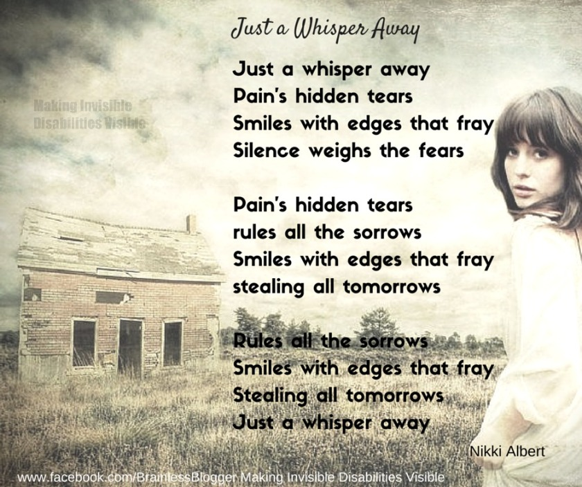 Poem- Just a whisper away