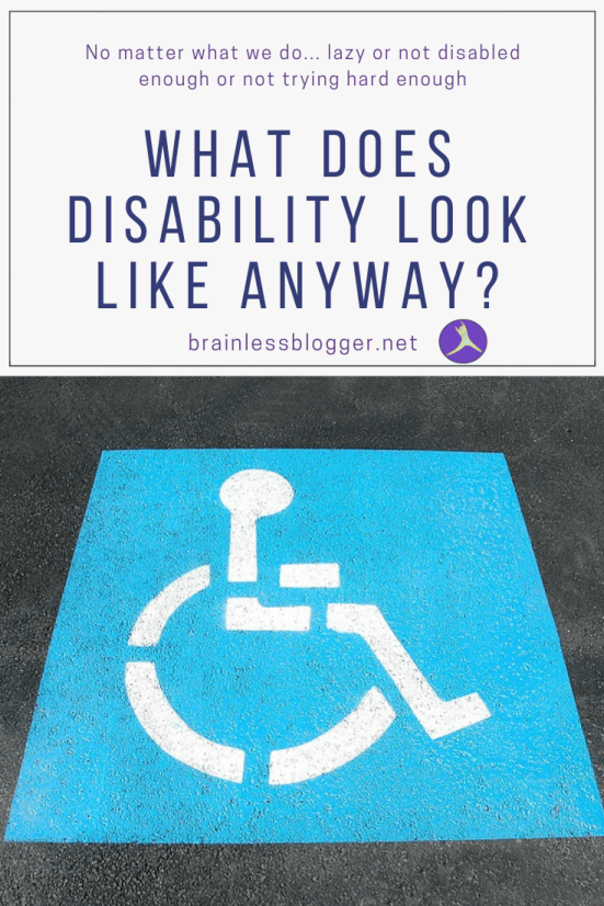 What does disability look like anyway