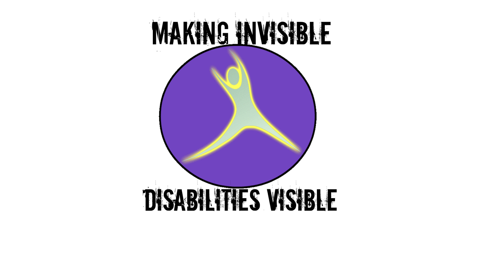 Migraine awareness day 5 symbol of hope mham mhambc brainless i created this symbol for my facebook page making invisible disabilities visible i chose the purple background because it is the awareness color for both biocorpaavc Images