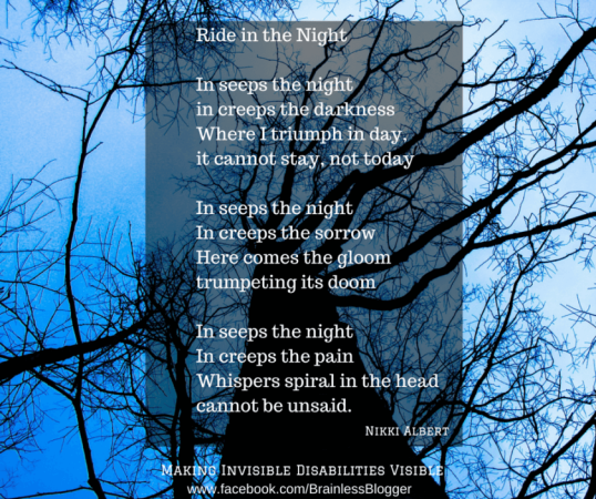 Poem: Ride the night
