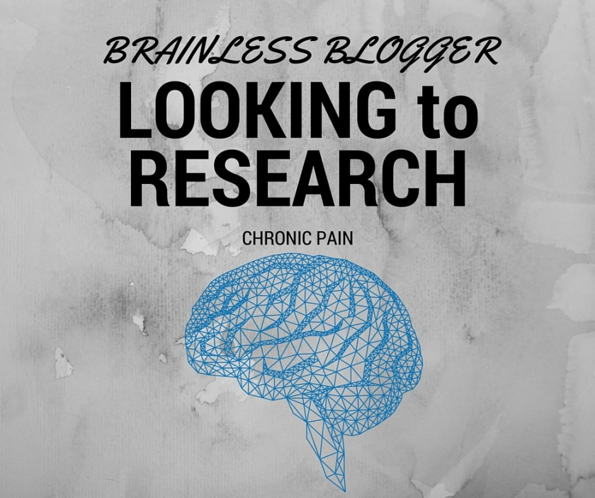 chronic pain research