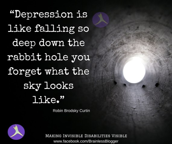 Depression and thinking positive