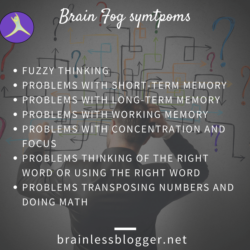 Brain fog symptoms