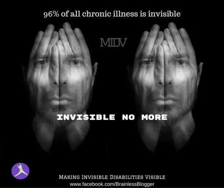 Invisible illness: Invisible no more