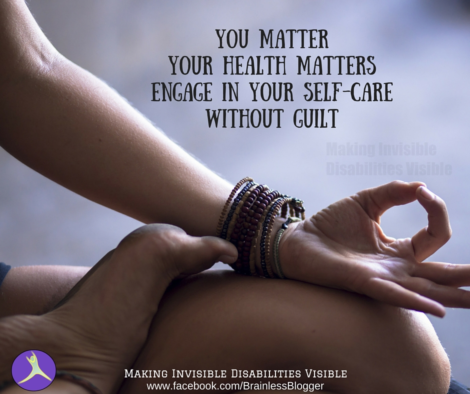 you matteryour health mattersengage in your self-carewithout guilt