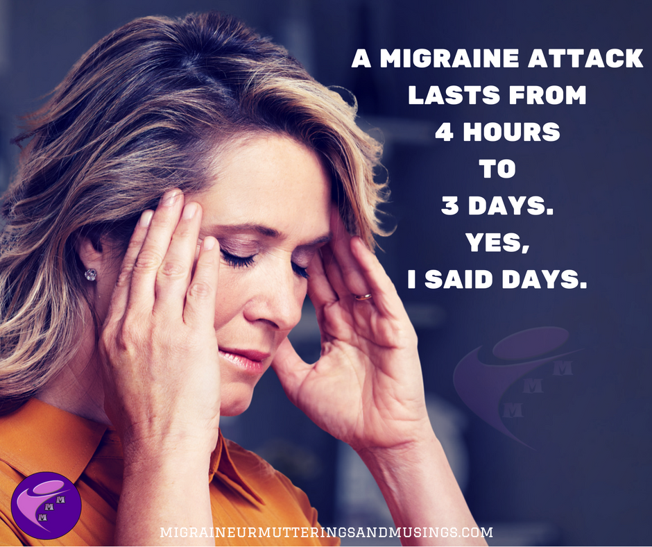 a Migraine attack lasts from4 hoursto 3 days.Yes,I said days..png