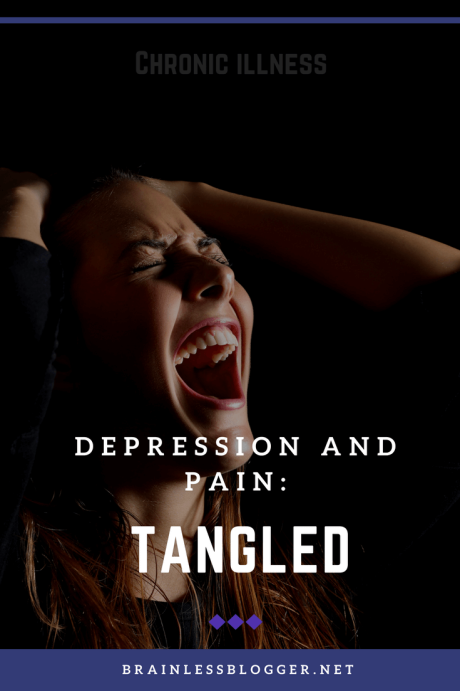 depression and chronic pain tangled
