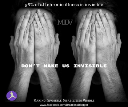96% of all chronic illness is invisible