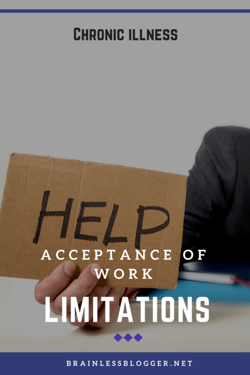 chronic illness and acceptance of work limitations