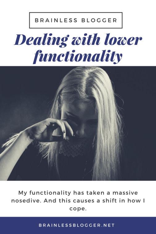 Chronic pain and chronic illness and lower functionality
