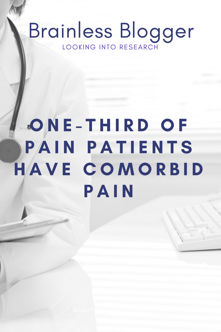 One-third of pain patients have comorbid pain