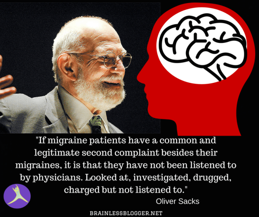 Oliver Sacks about migraine