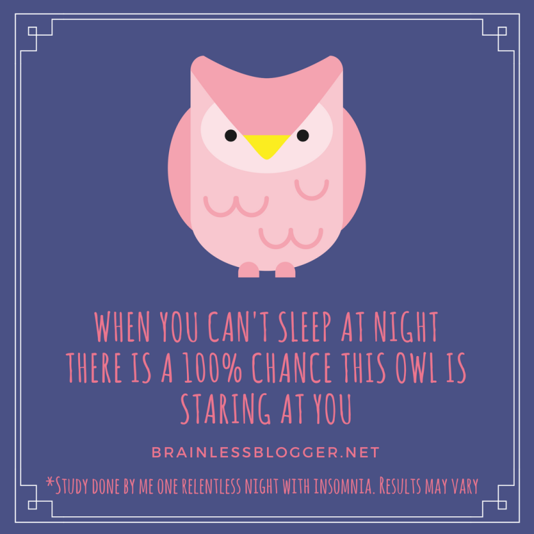 When you can't sleep at night there is a 100% chance this owl is staring at you.png