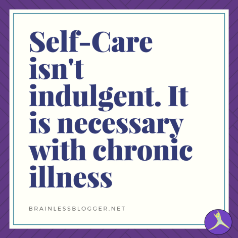 Self-care isn't indulgent