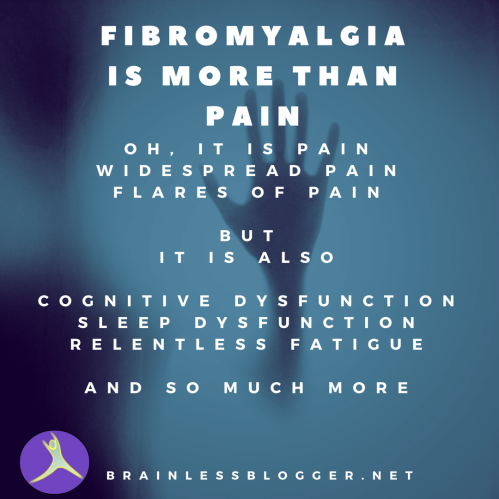 Fibromyalgia is more than pain