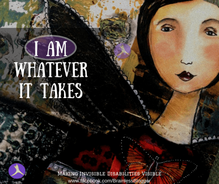 chronic pain: I am whatever it takes