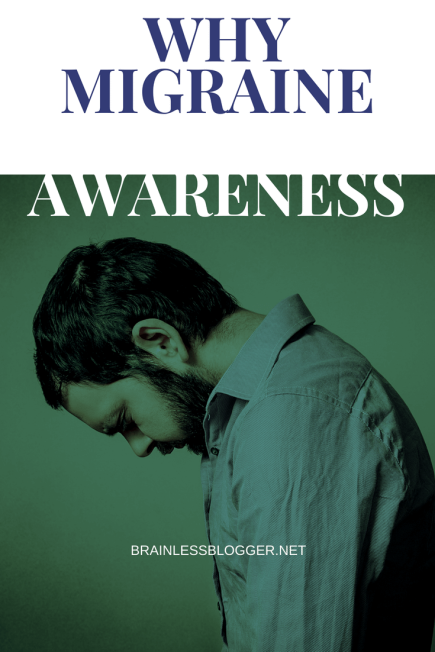 Why migraine awareness