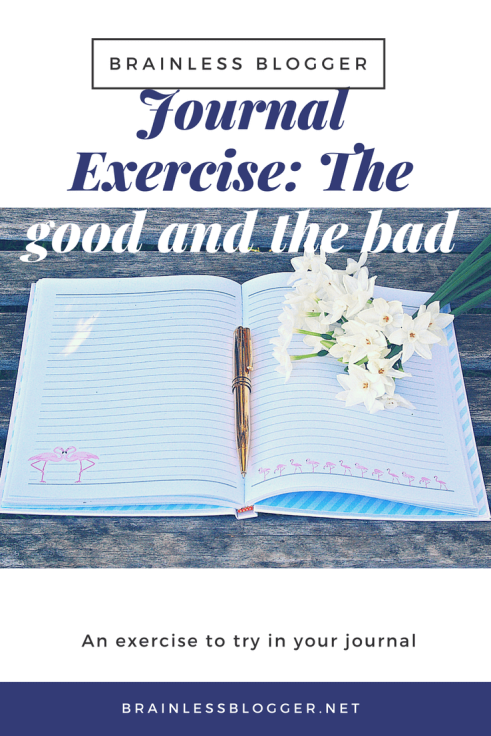 Journal exercise- the good and the bad
