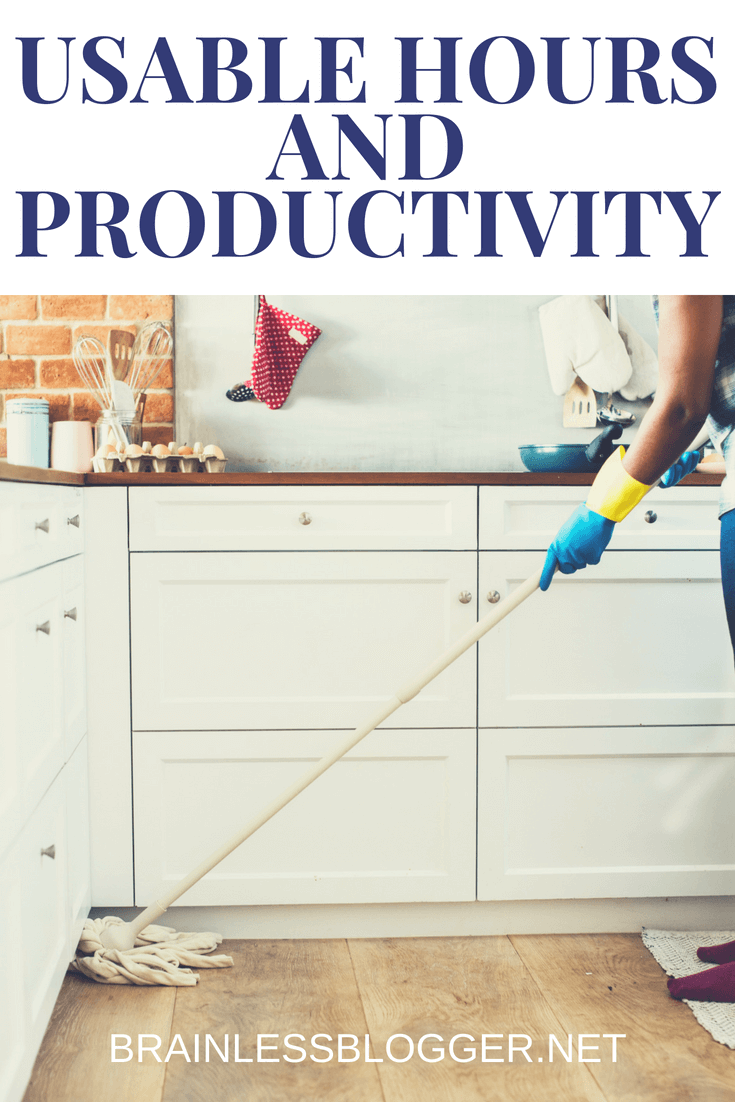 Usable hours and productivity