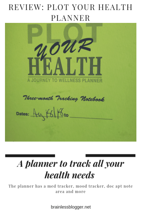 Review- plot your health planner