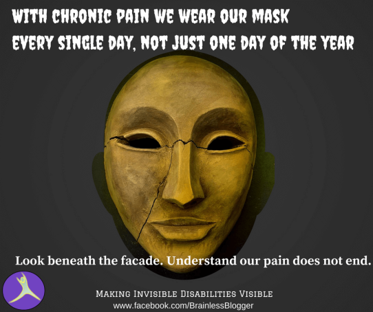 Chronic pain mask