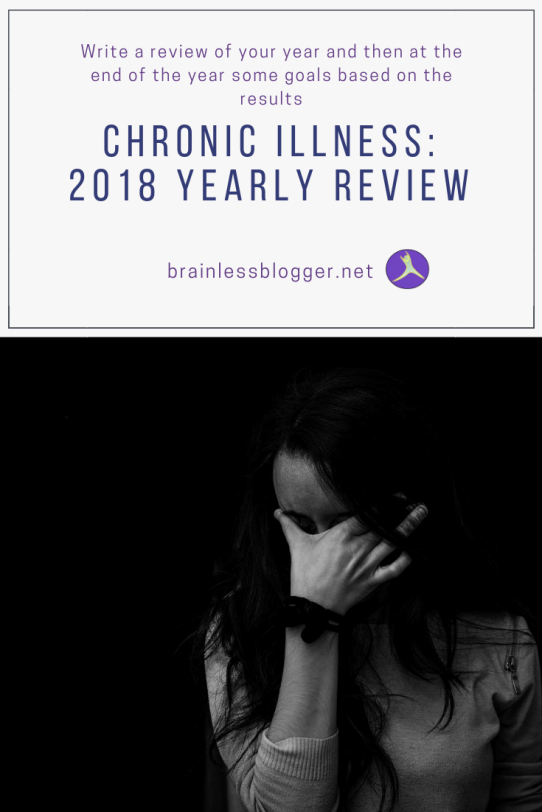 Chronic illness: 2018 Yearly review