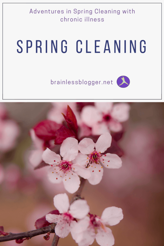 Spring cleaning with chronic illness