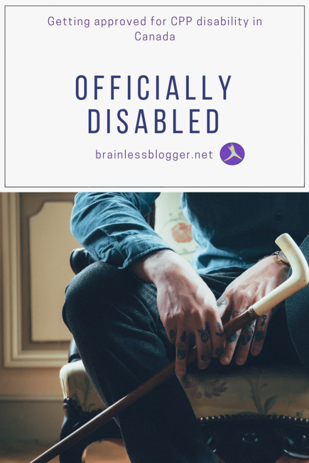 Officially disabled