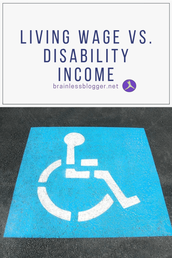 living wage vs. disability income