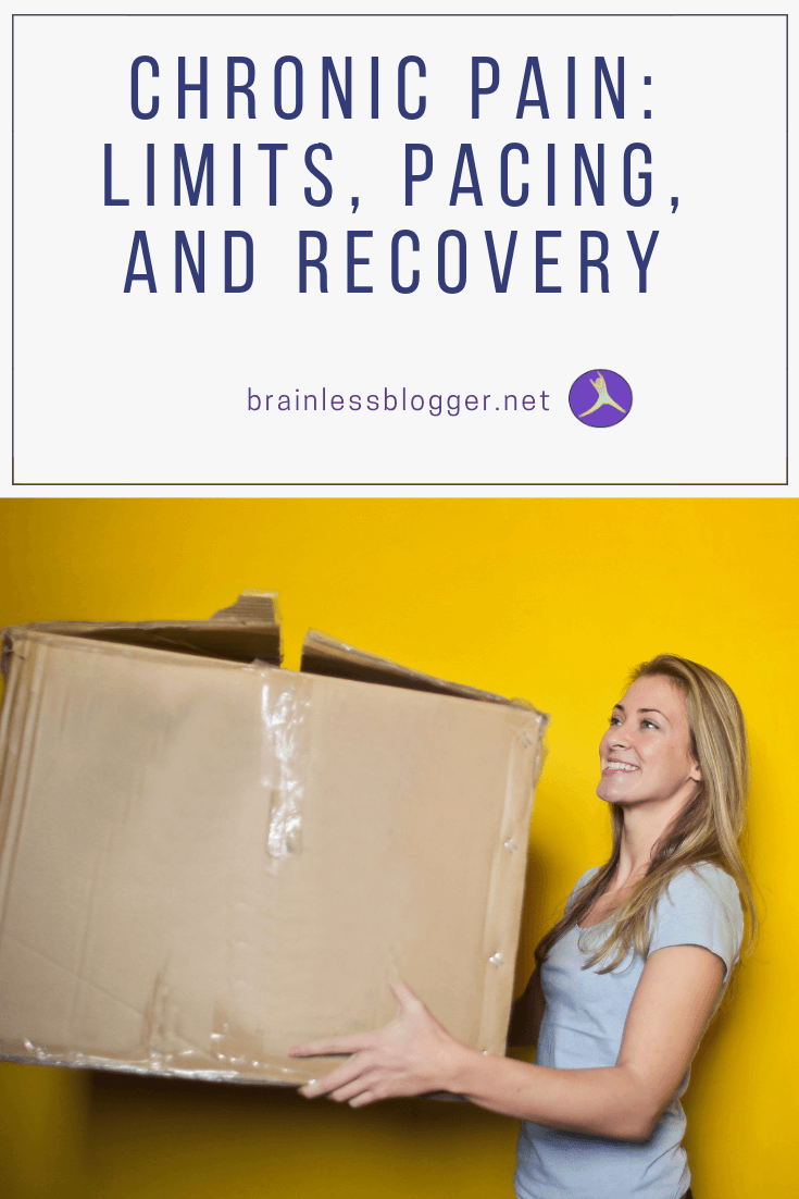 Chronic pain: Limits, pacing, and recovery
