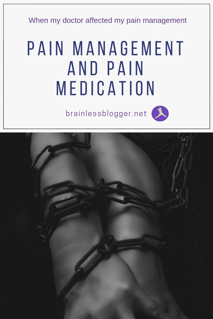 Pain management and pain medication