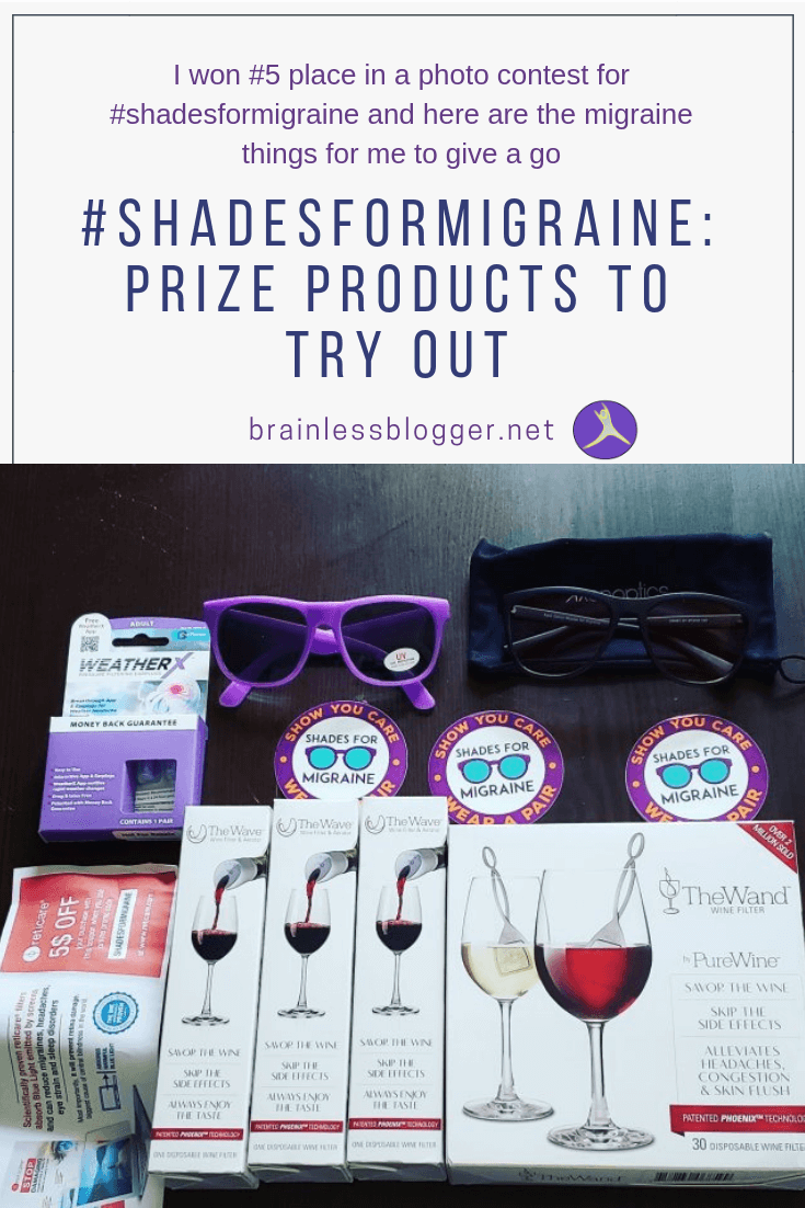 Shades for migraine: prize products to try out