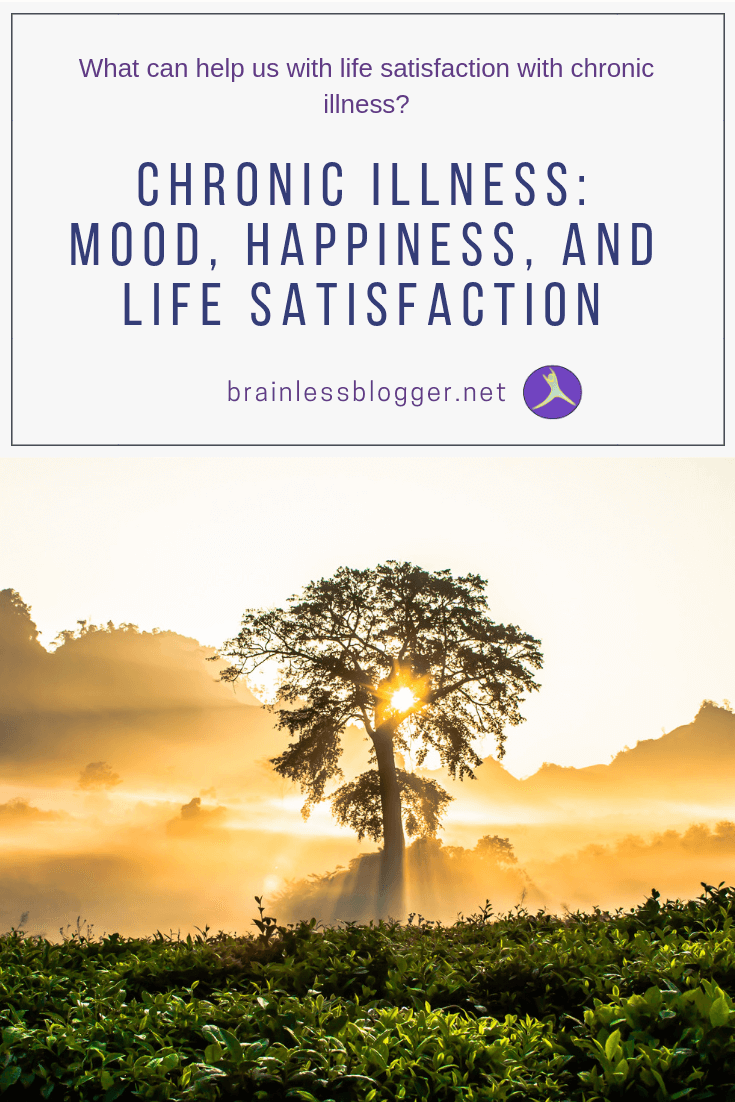 chronic illness: mood, happiness, and life satisfaction