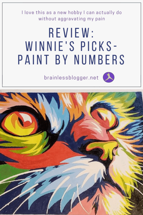Review Winnie's Picks pain by numbers