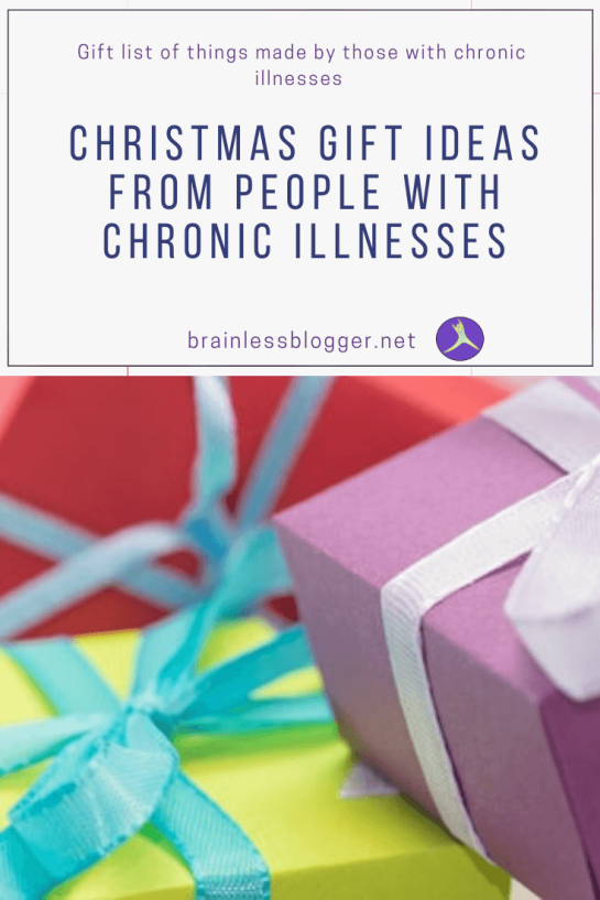 Christmas gift ideas from people with chronic illnesses