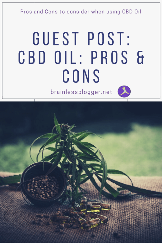 CBD Oil: Pros and Cons