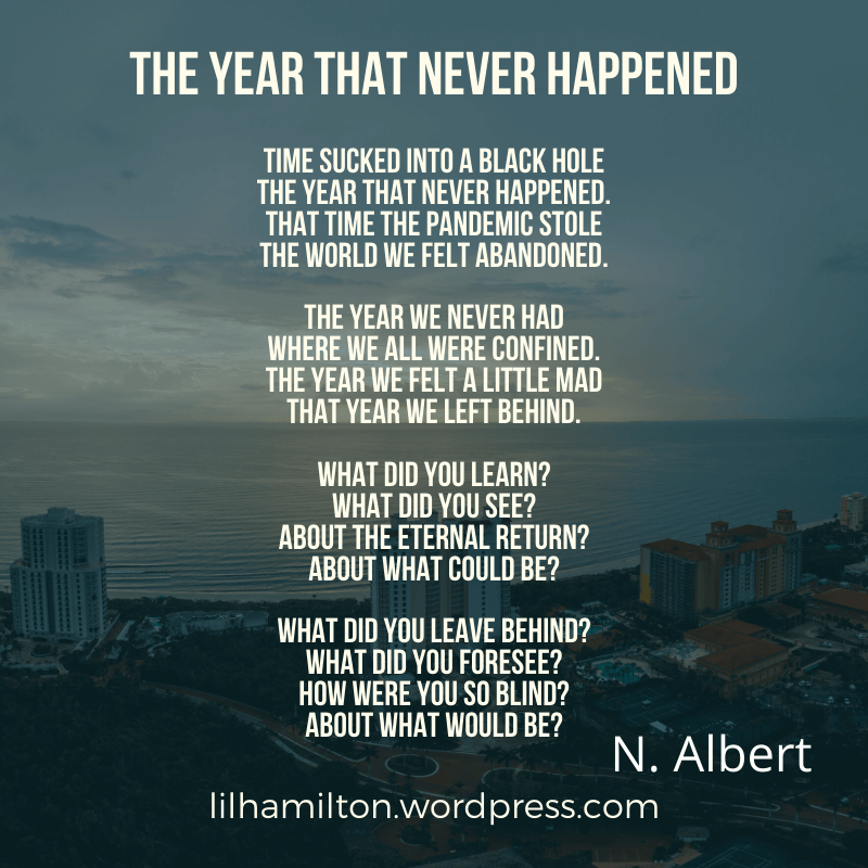 The year that never happened poem