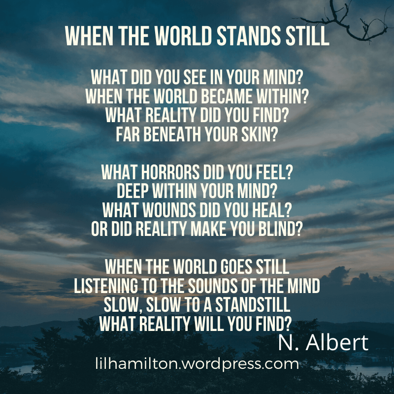 When the world stands still