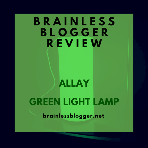 Allay green light lamp review