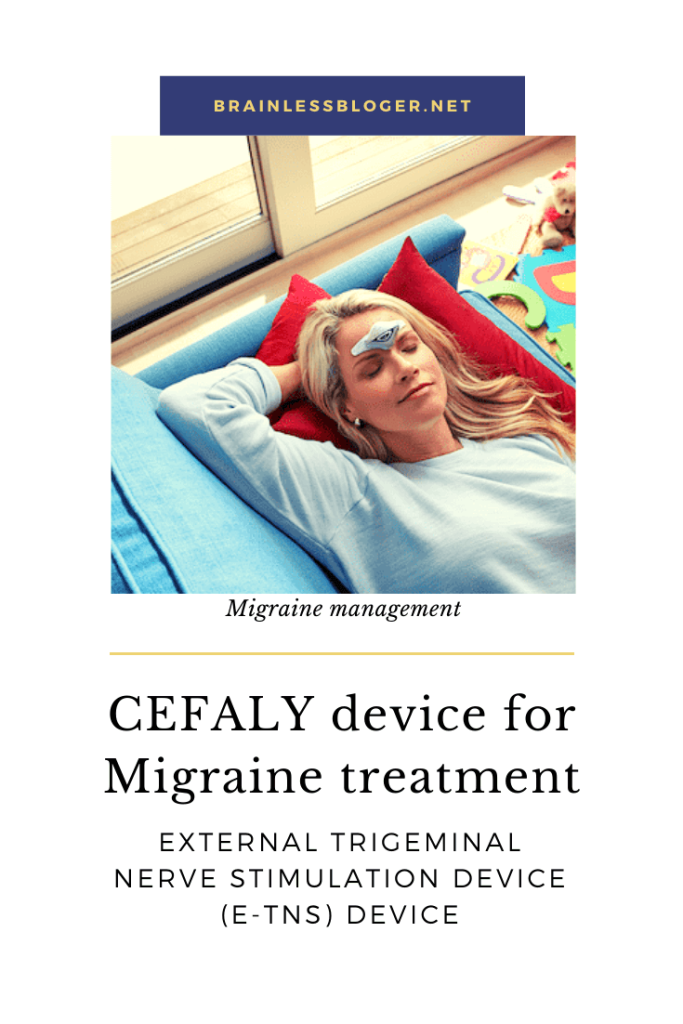 CEFALY device for migraine treatment
