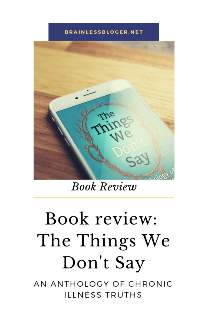 The things we don't say book review