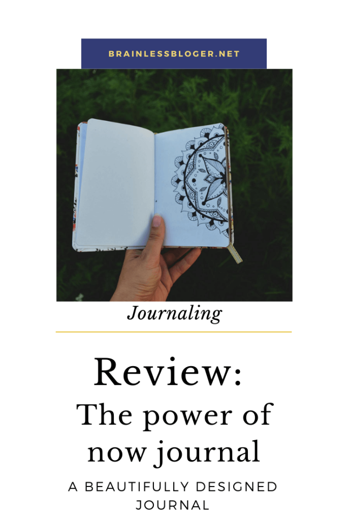 Review- Power of now journal