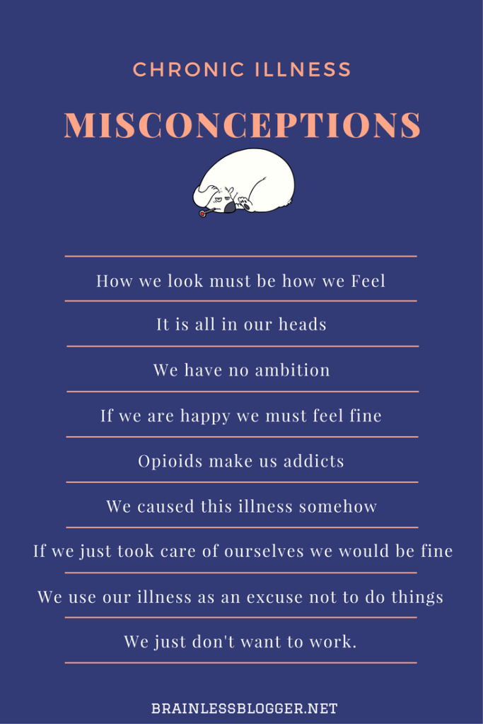 Misconceptions of invisible illnesses